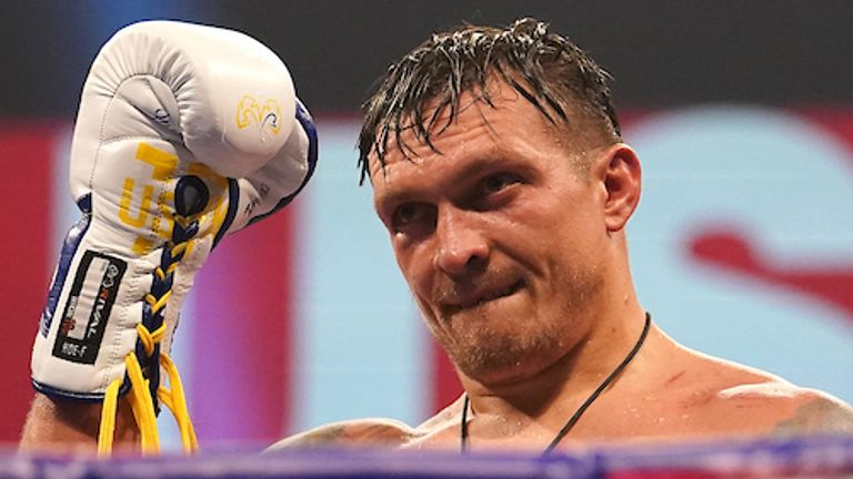 Oleksandr Usyk has already lined up a fight against Anthony Joshua