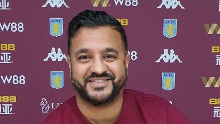 Aston Villa Nilesh Chauhan