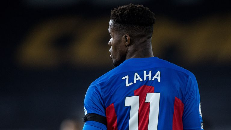 Wilfried Zaha called for greater action and education after he received racist messages in July
