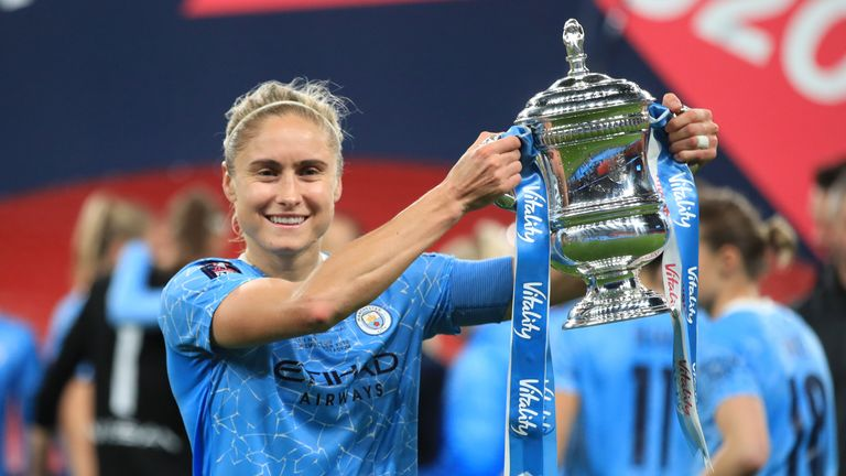 The status of the Women's FA Cup, which was won by Manchester City in October, has yet to be determined