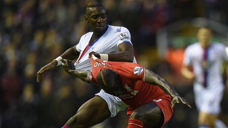 Bolasie enjoyed his tussles with Liverpool as a Crystal Palace player