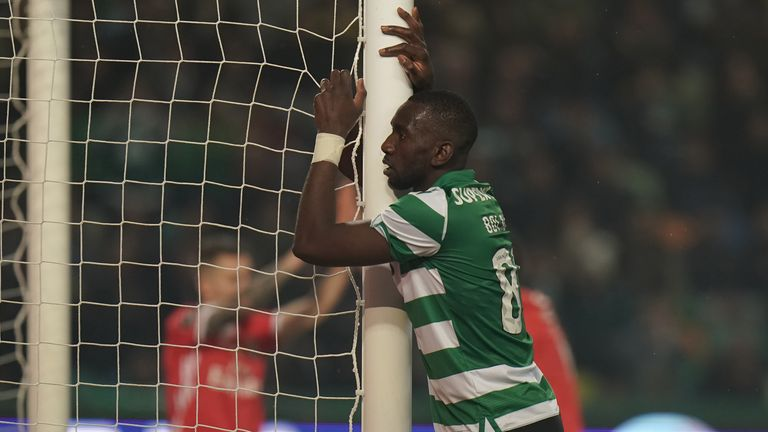 Bolasie scored once in 14 league appearances while at Sporting Lisbon