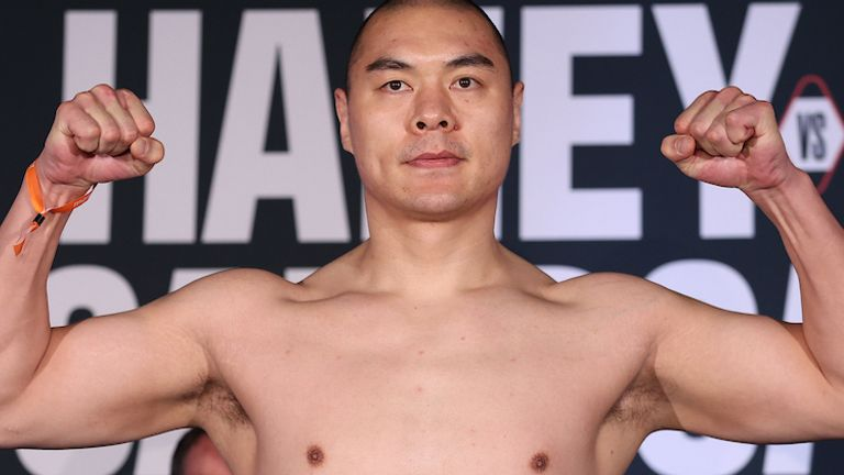 Zhang is unbeaten in 22 fights