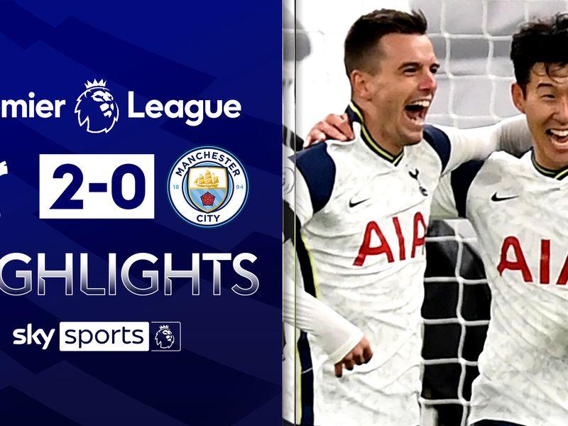 Tottenham 2 0 Man City Spurs Top Of Premier League After Classic Jose Mourinho Victory Football News Sky Sports