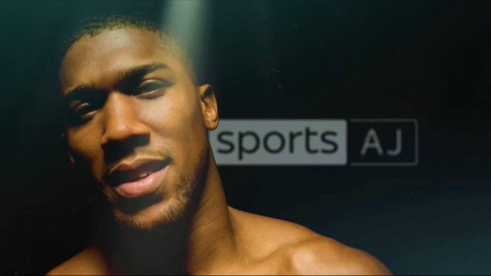 Joshua vs Pulev: Anthony Joshua will take over Sky Sports Mix as it becomes Sky Sports AJ