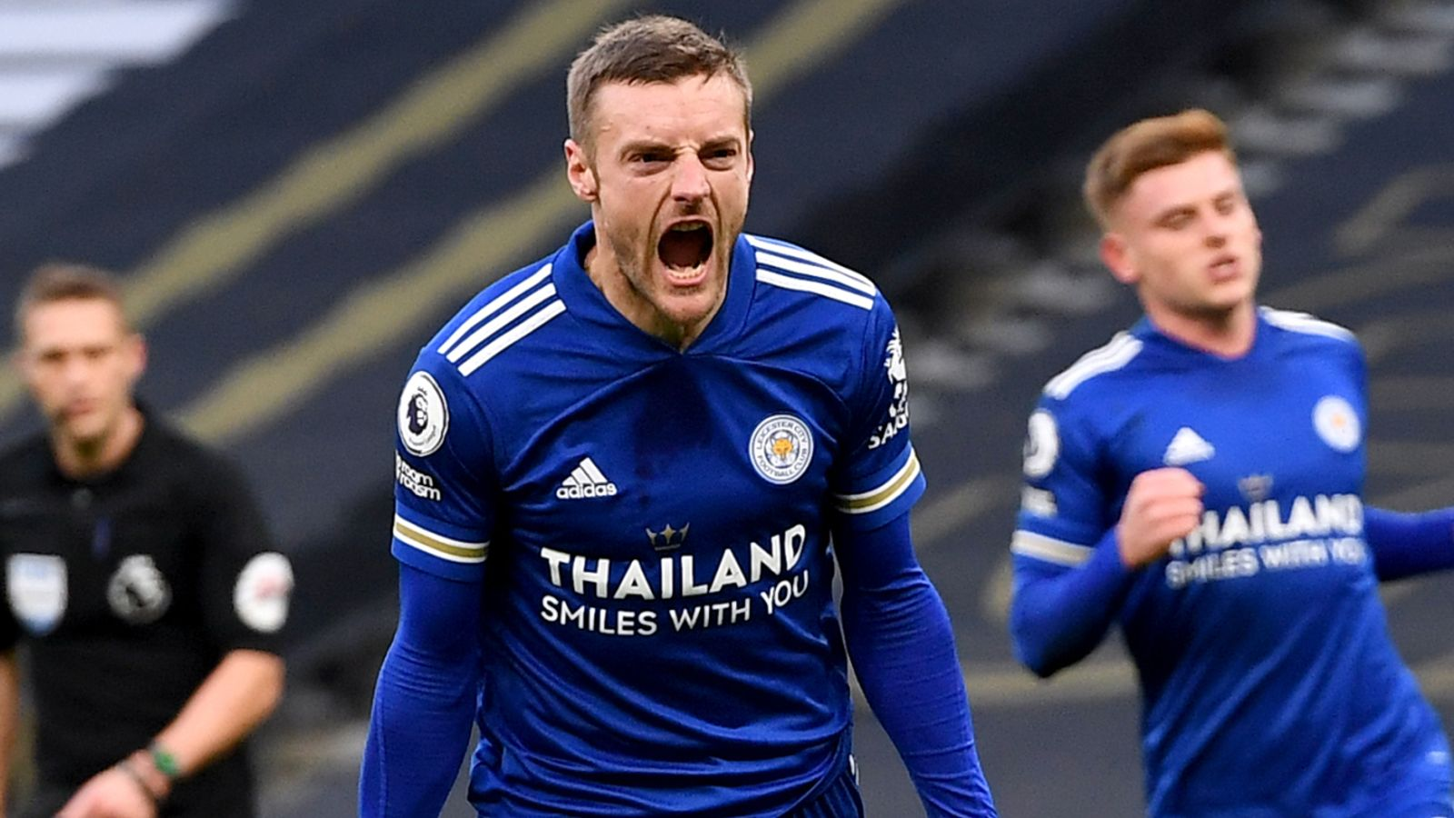 Tottenham 0-2 Leicester: Jamie Vardy's penalty and Toby ...
