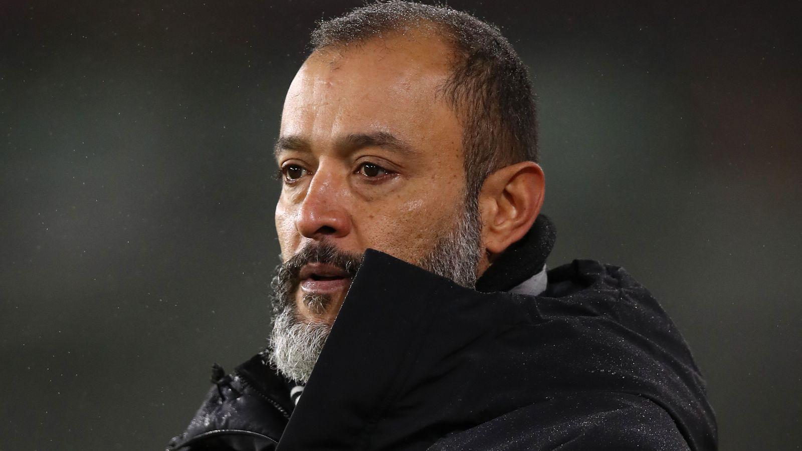 Nuno Espirito Santo: Wolf Chief refuses to apologize for Lee Mason's criticism  Football News
