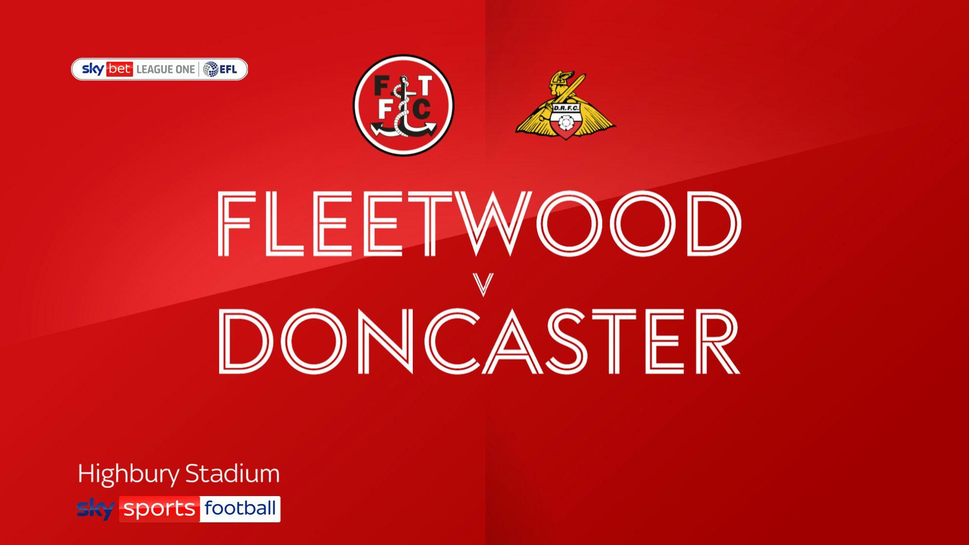 Fleetwood comeback stuns Doncaster