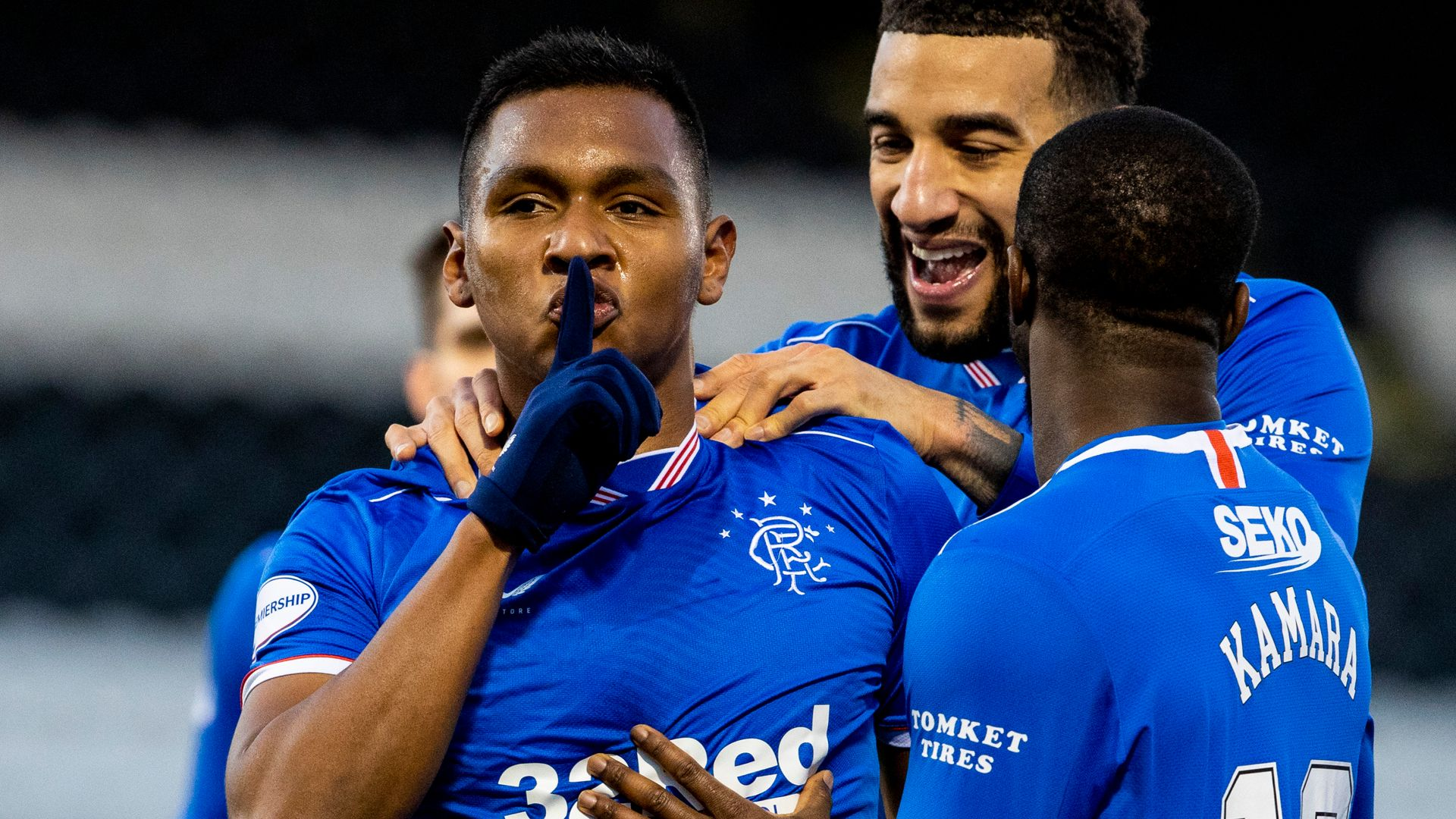 Morelos ends drought as Rangers beat St Mirren