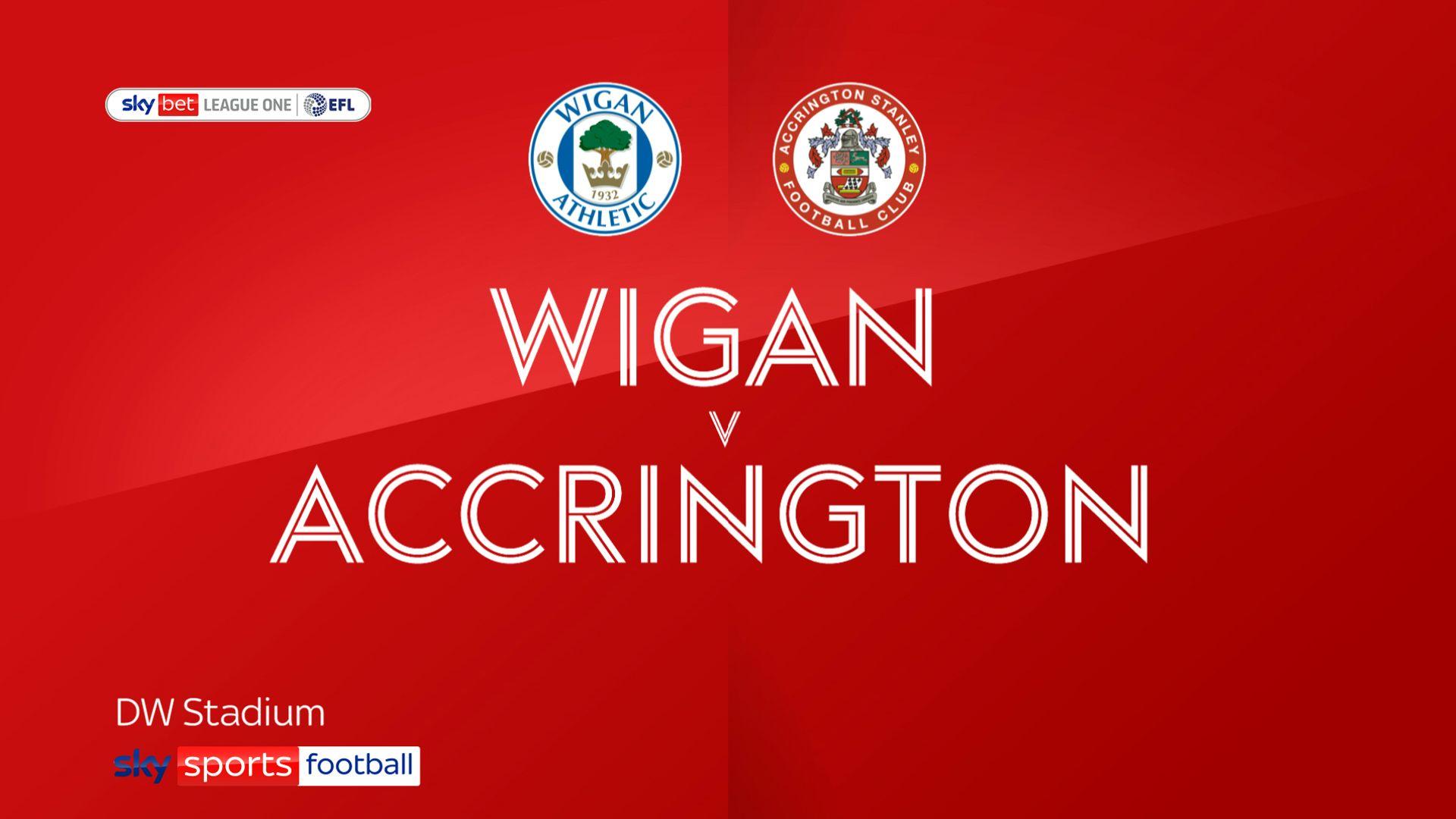 Wigan edge Accrington in seven-goal thriller