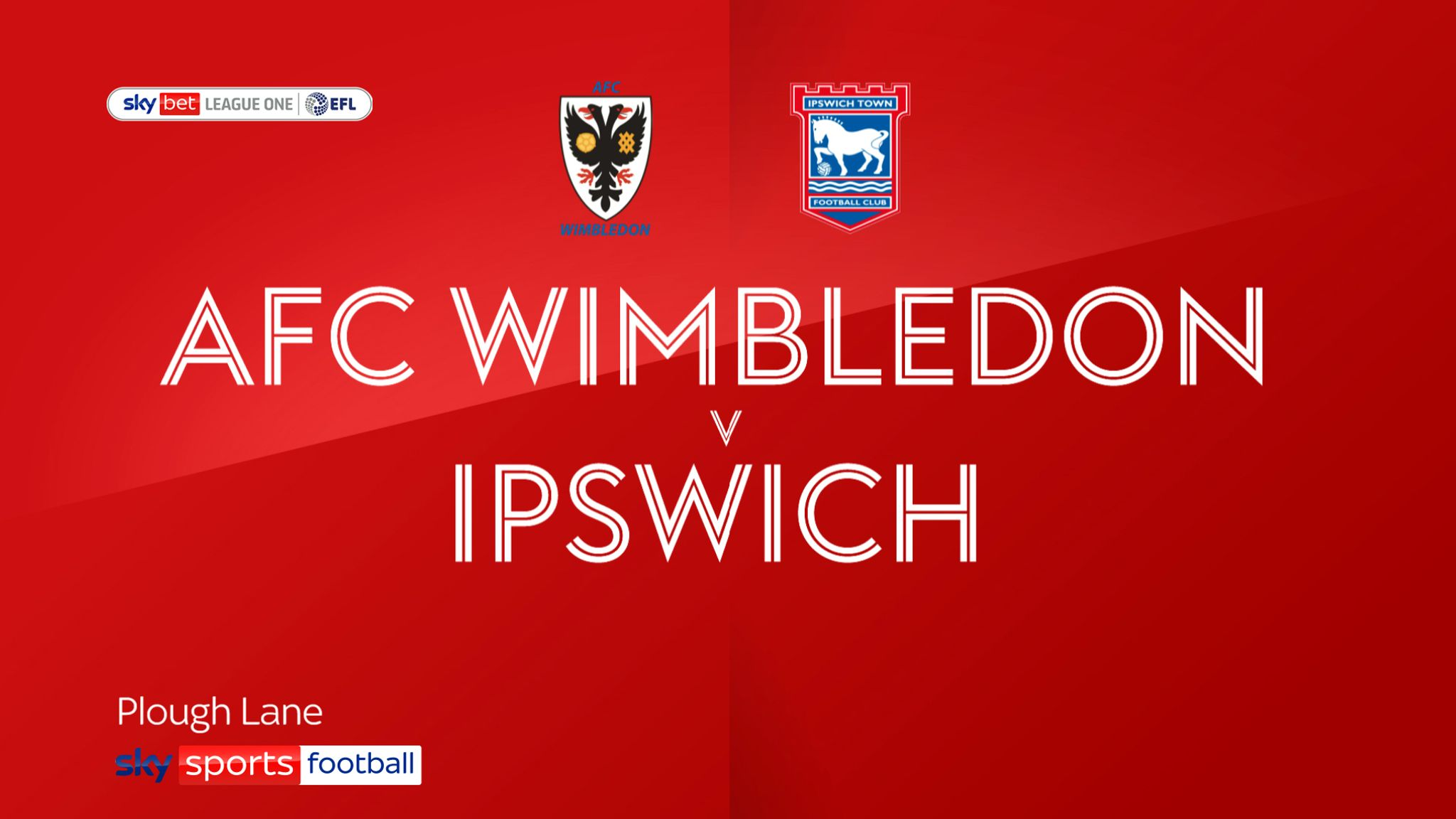 AFC Wimbledon 3-0 Ipswich: Dons beat 10-man Tractor Boys to boost survival hopes