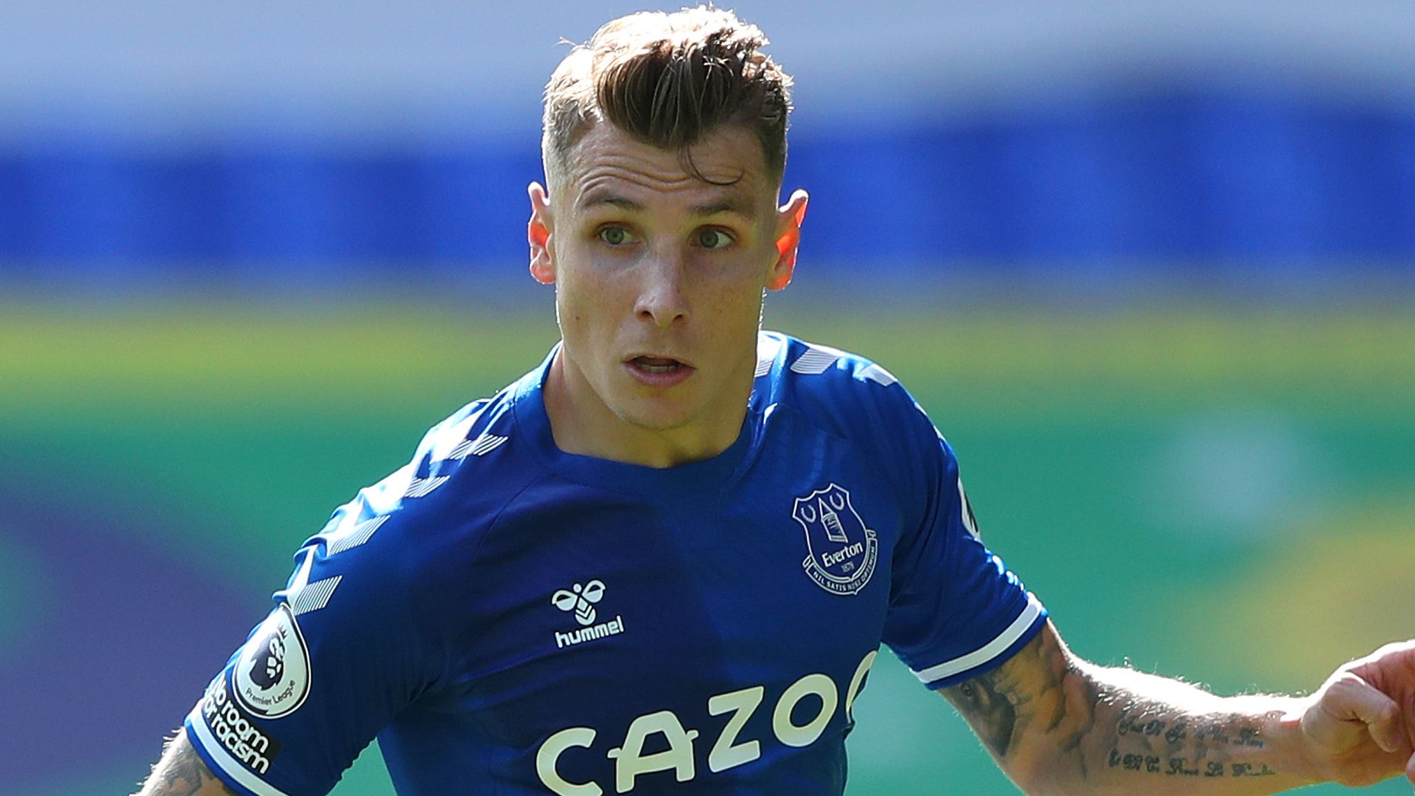 Lucas Digne: Everton set to offer left-back new contract | Football News |  Sky Sports