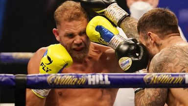 Billy Joe Saunders sealed a points victory over Martin Murray