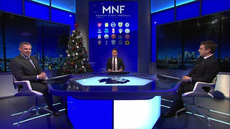 Gary Neville and Jamie Carragher are back to make their predictions for Week 17 in the NFL, with the aim to take down two-time Super Bowl winning coach Rob Ryan - again!