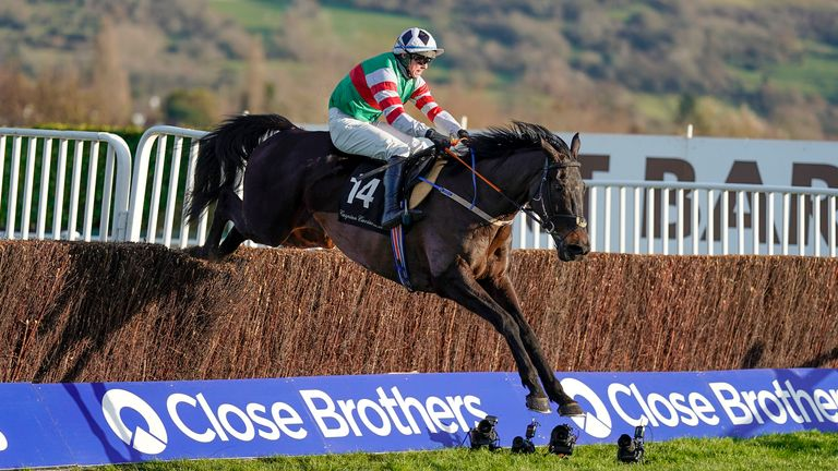 Chatham Street Lad is clear at Cheltenham