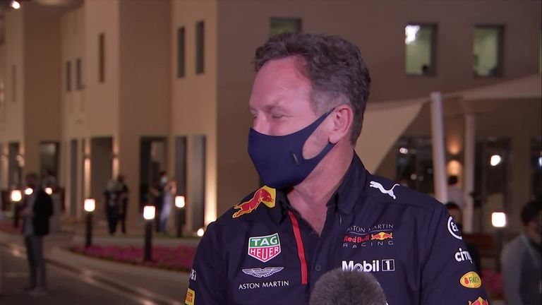 Red Bull team boss Christian Horner was full of praise for Max Verstappen as the Dutchman beat the Mercedes drivers to Abu Dhabi GP pole.