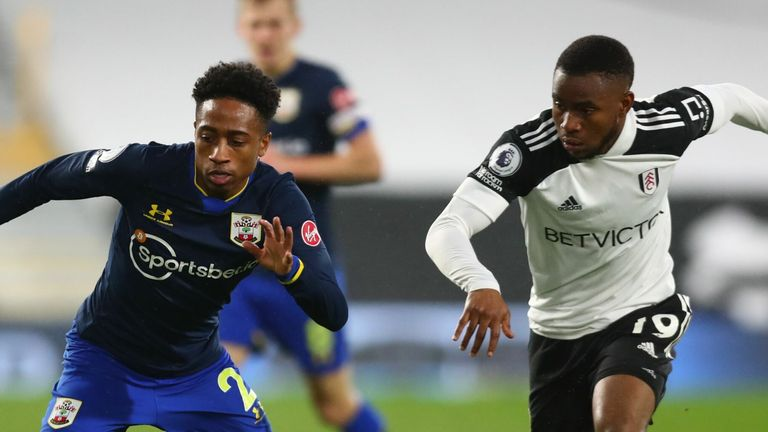 Ademola Lookman impressed in his duel with Kyle Walker-Peters