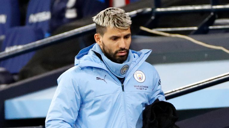 Sergio Aguero from Manchester City  December 15  England  Watch the Premier League match between Manchester City and West Bromwich Albion in Manchester.