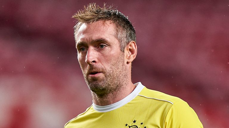 Allan McGregor is set to break the record for the most Rangers appearances in Europe
