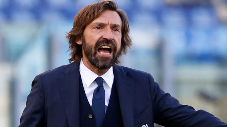 Andrea Pirlo has only lost to Barcelona since taking over as Juventus manager
