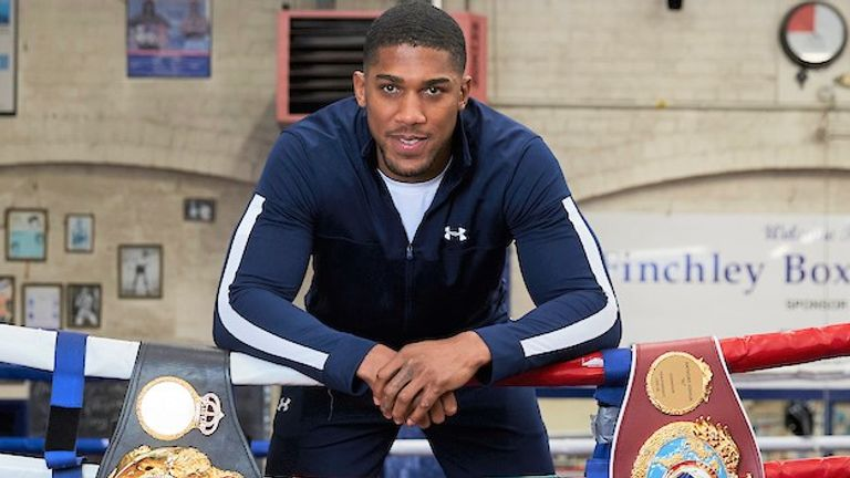 Joshua's promoter Eddie Hearn hopes to reach a deal for the Fury fight