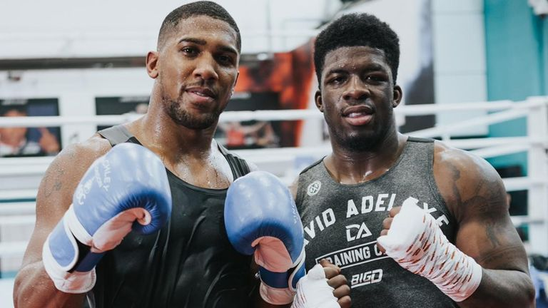 Joshua and prospect David Adeleye