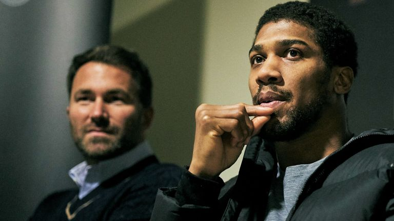 Anthony Joshua vs. Tyson Fury No Longer in Talks As Both Champions Focus On Dangerous Challengers, Says Promoter Eddie Hearn    Boxing News