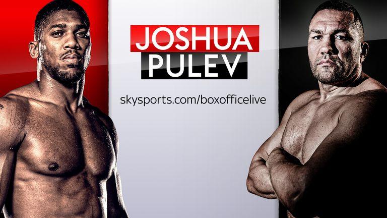 Anthony Joshua, Kubrat Pulev