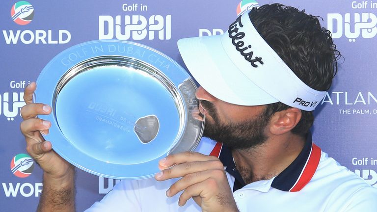 Antoine Rozner reflects on securing a maiden European Tour title with a two-shot victory at the Golf in Dubai Championship