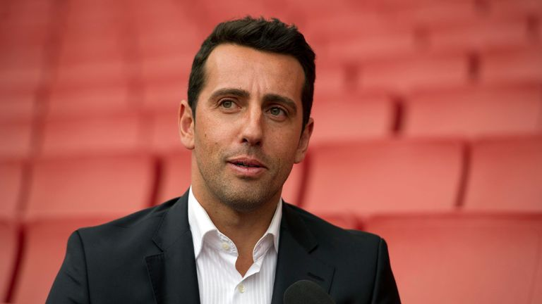 Arsenal's sporting director Edu says