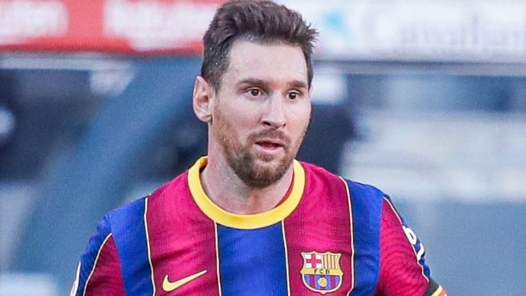 Lionel Messi has scored seven goals for Barcelona this seaso