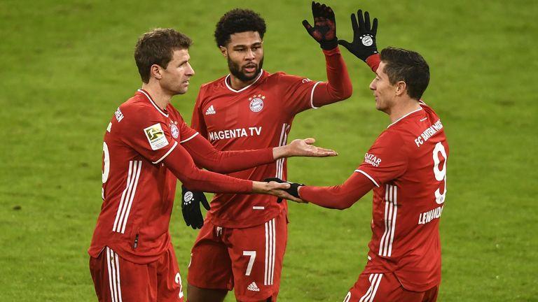 Bayern Munich came from behind to beat Wolfsburg