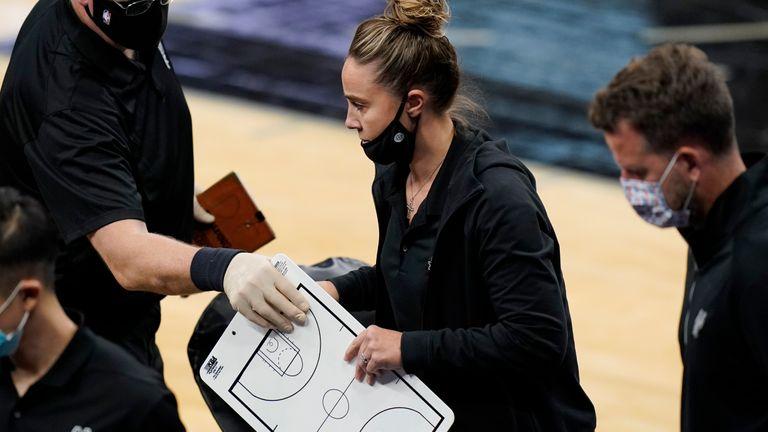 Becky Hammon NBA