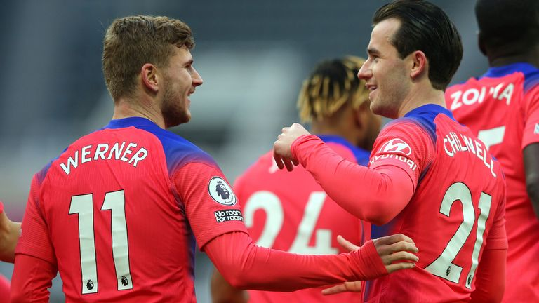 Timo Werner and Ben Chilwell were two of several high-profile signings Chelsea made over the summer
