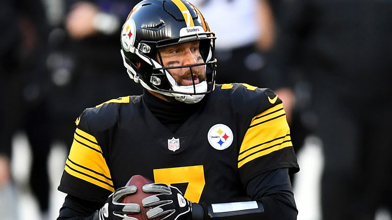 Ben Roethlisberger completed 36 of 51 passes for 266 yards, one touchdown and one interception