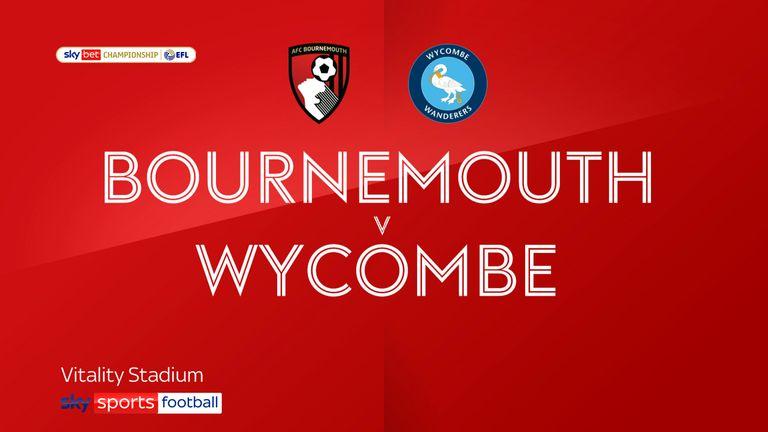 Bournemouth v Wycombe