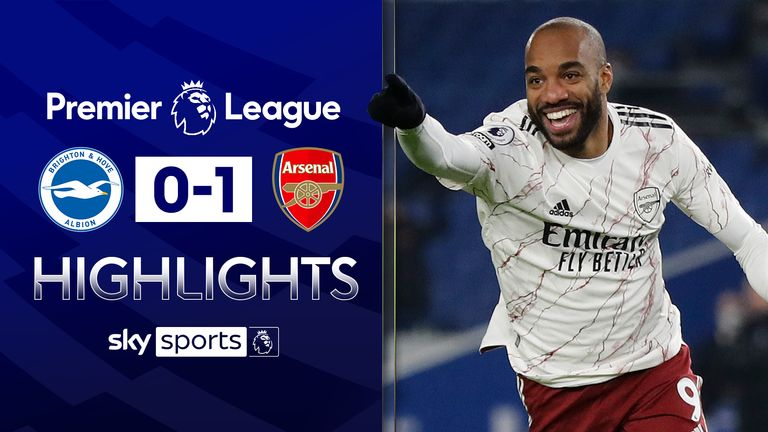 Brighton vs Arsenal highlights