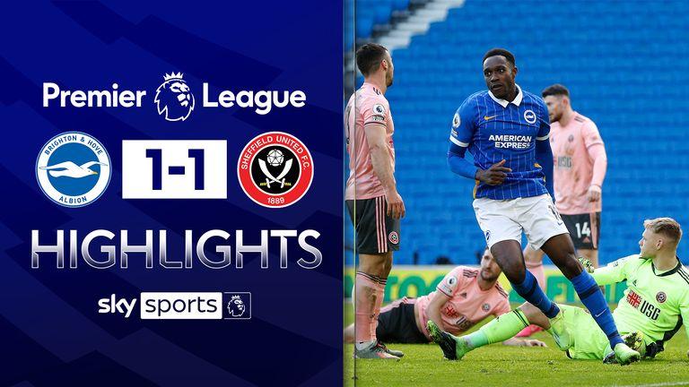 Brighton 1-1 Sheff Utd