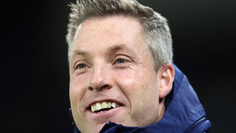 Neil Harris was sent-off nine minutes from the end of Cardiff City's 2-1 loss at Wycombe Wanderers