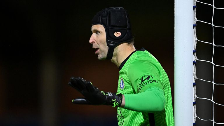 Petr Cech conceded two early goals but came out on the winning team as Chelsea beat Spurs 3-2