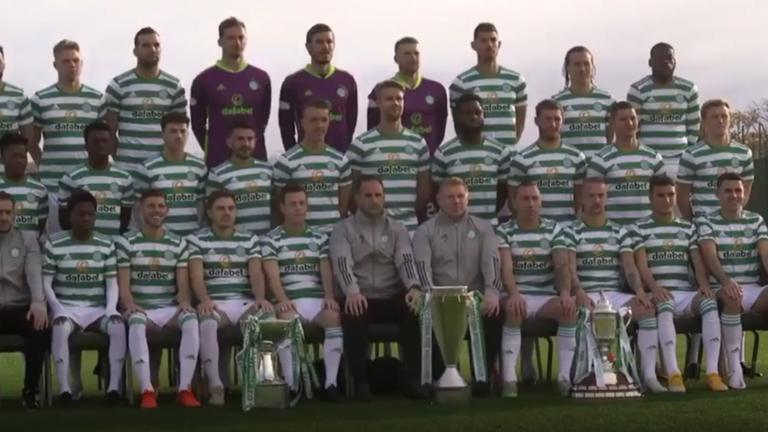 Celtic team photo