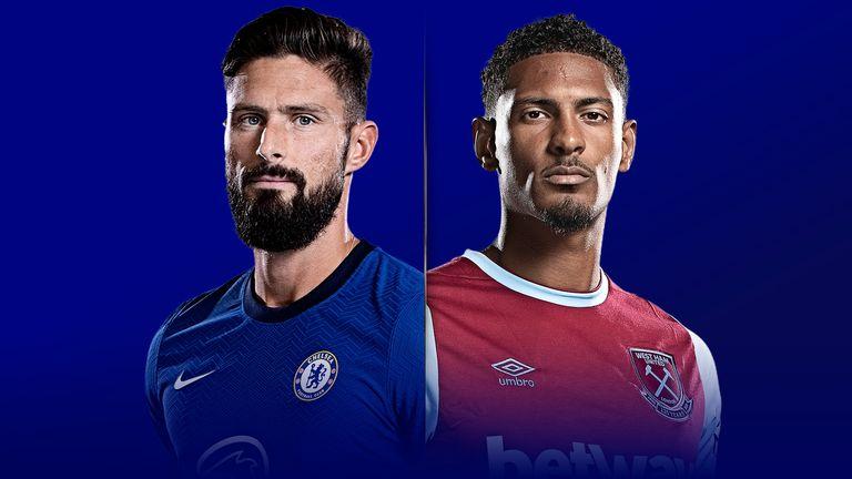 Chelsea versus West Ham