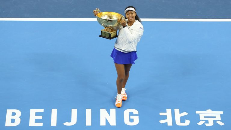 All Premier Mandatory events were cancelled in 2020 - Naomi Osaka won the China Open in 2019, which will become a WTA 1000 event from 2021