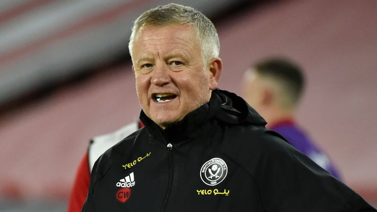 Chris Wilder says Sheffield United must start clawing ...