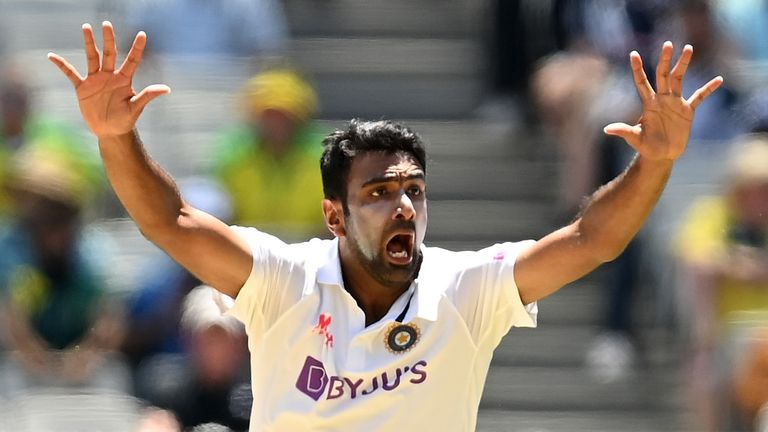 India spinner Ravichandran Ashwin took three wickets on the opening day at the MCG