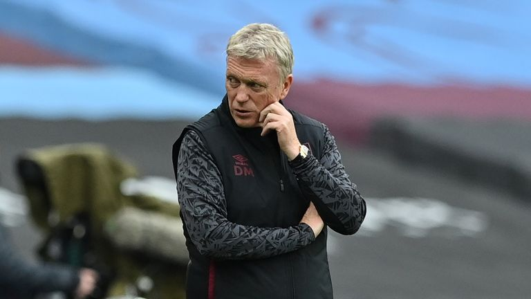 David Moyes has taken West Ham up to fifth in the Premier League table