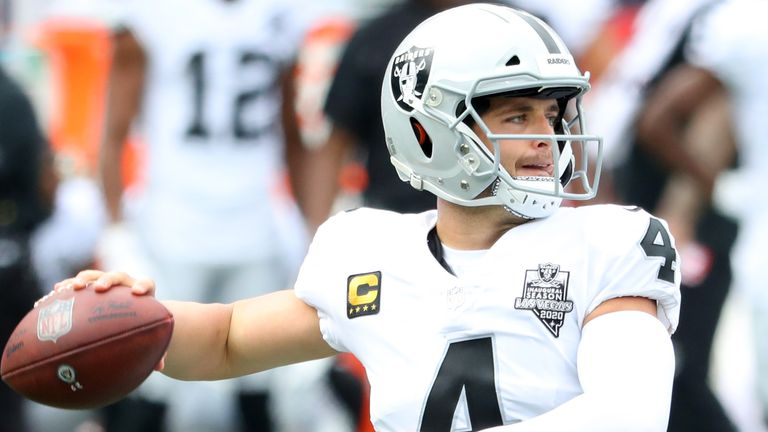 Derek Carr and the Raiders have stumbled down the final stretch of the season, losing three of their last four