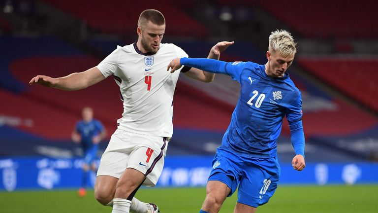 Dier has started five of England's last eight internationals at centre-back