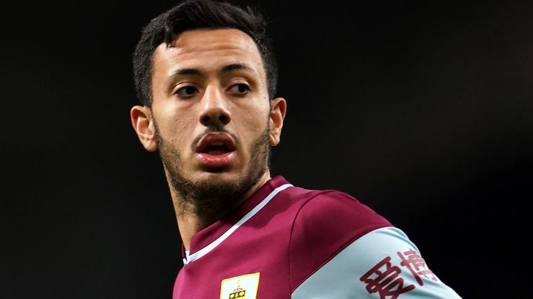 Dwight McNeil played in ever Premier League game for Burnley last season