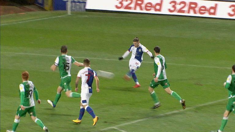 Elliott goal for Blackburn